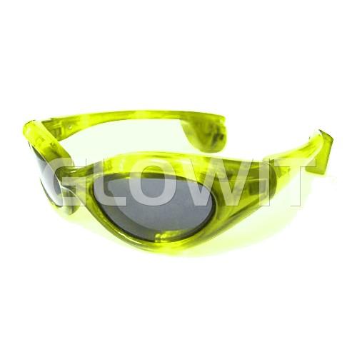 Glowit lunettes de soleil LED - jaune