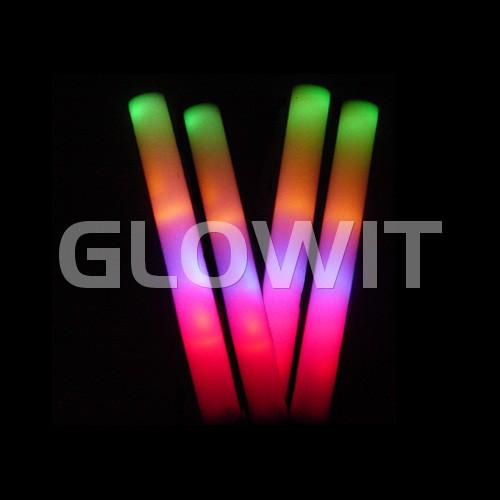 Glowit Schuimrubber LED staaf / foam stick - 400mm x 40mm