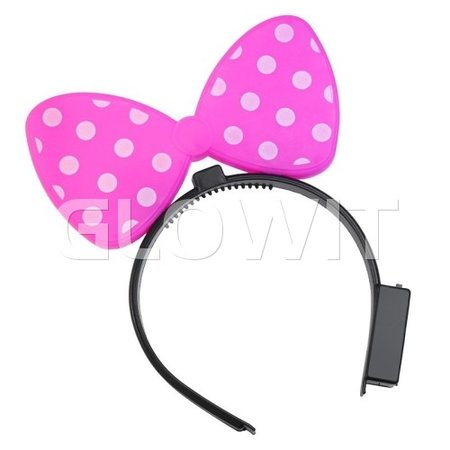 Glowit Minnie Mouse oren LED