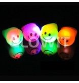 Glowit Flashing LED smiley ring