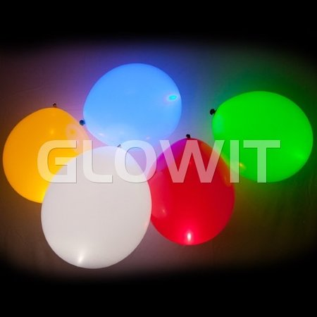 Glowit 10 Led light up balloon lights - Blue