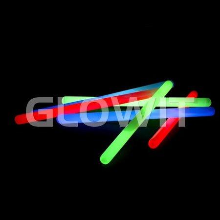 Glowit 10 Glowsticks 250mm x 15mm - Blue