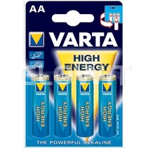 Varta high energy AA batterijen