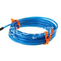 EL draad 2m (Op batterijen) Blauw