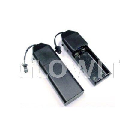 Glowit EL wire - 2m x 2.3mm - 3V (2 x AA batteries) - Oranje (Invertor included)