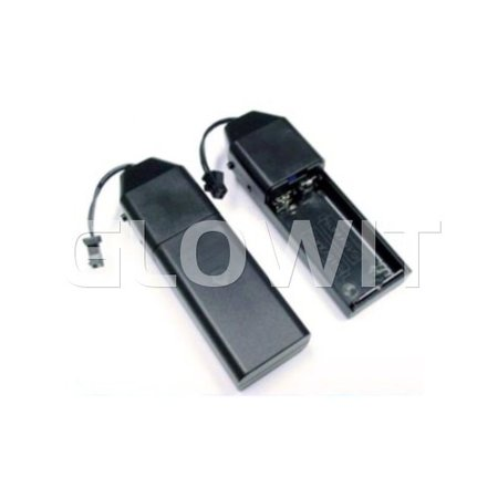 Glowit EL draad - 2m x 2.3mm - 3V (2 x AA batterijen) - Roze (Inclusief invertor)