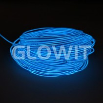 EL wire 20m Blue