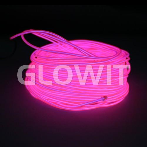 Glowit EL wire - 20m x 3.2mm - Pink