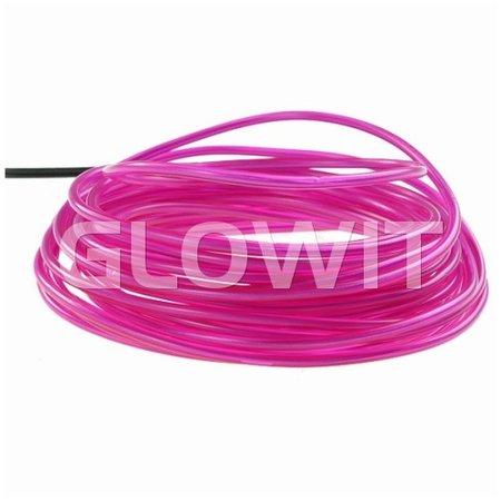Glowit EL draad - 10m x 3.2mm - Paars