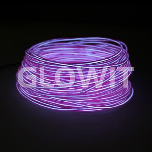 Glowit Fil EL - 20m x 3.2mm - Paars