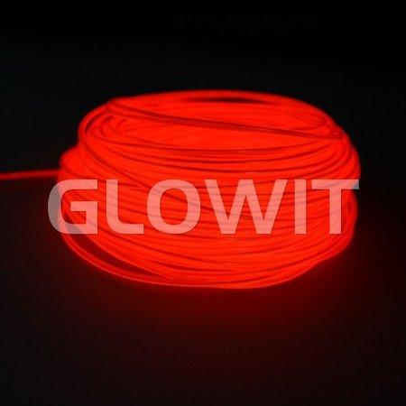 Glowit EL wire - 10m x 3.2mm - Red
