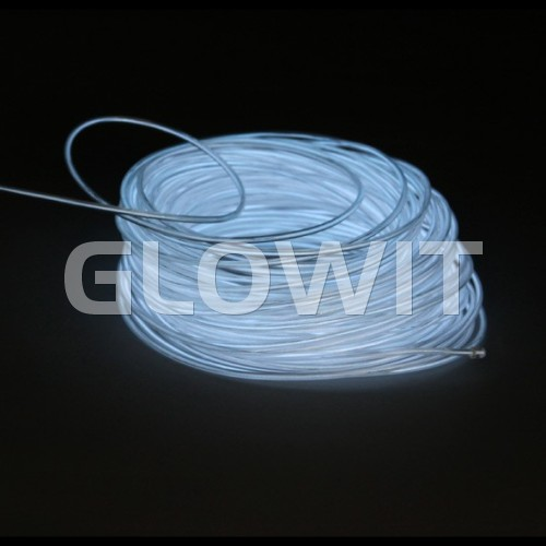 Glowit EL draad - 10m x 3.2mm - Wit