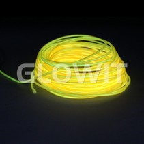 Fil EL 10m jaune