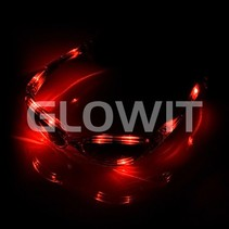 LED zonnebril Rood