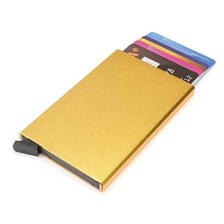 Figuretta Cardprotector hardcase - Goud