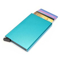 Cardprotector hardcase - Lichtblauw