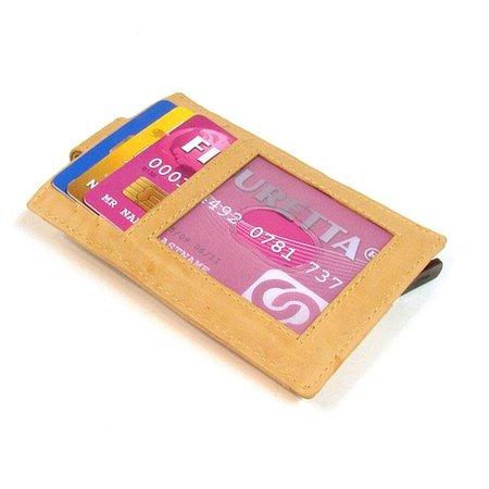 Figuretta Cardprotector sleeve - Cognac