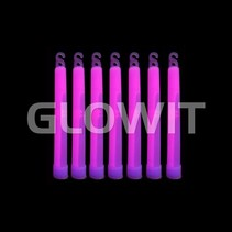 25 Glowsticks 150mm Paars