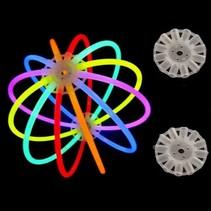25 Connecteurs pour ballon lumineux (Sans bâtons)