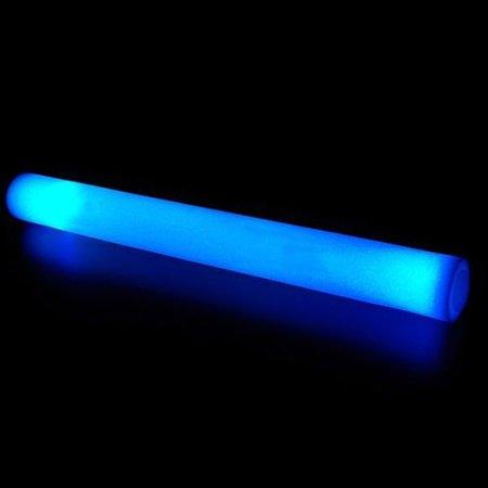 Glowit Schuimrubber LED staaf / foam stick - 400mm x 40mm - Blauw