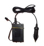Glowit Inverteur pour fil EL 10m - 9-12V (Alume-cigares)