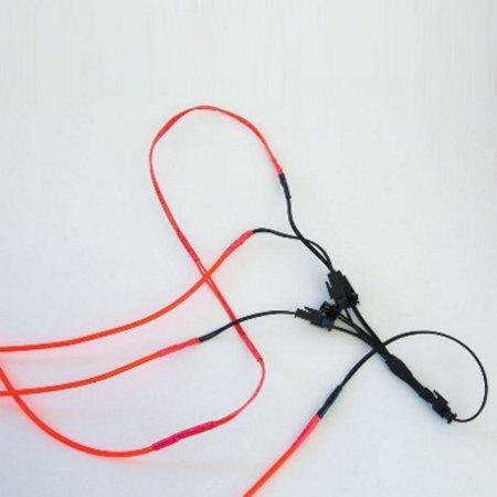 Glowit Electroluminesence (EL) wire Splitter - 5-way