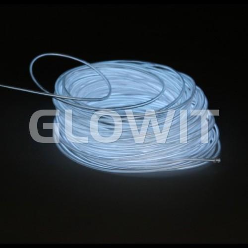 Glowit EL wire - 5m x 3.2mm - White