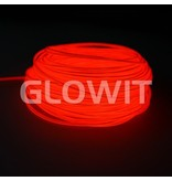 Glowit EL wire - 5m x 3.2mm - Red