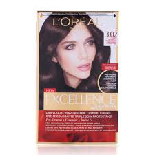 L'Oréal Paris Excellence 3.02 - Natural Dark Mother of pearl brown