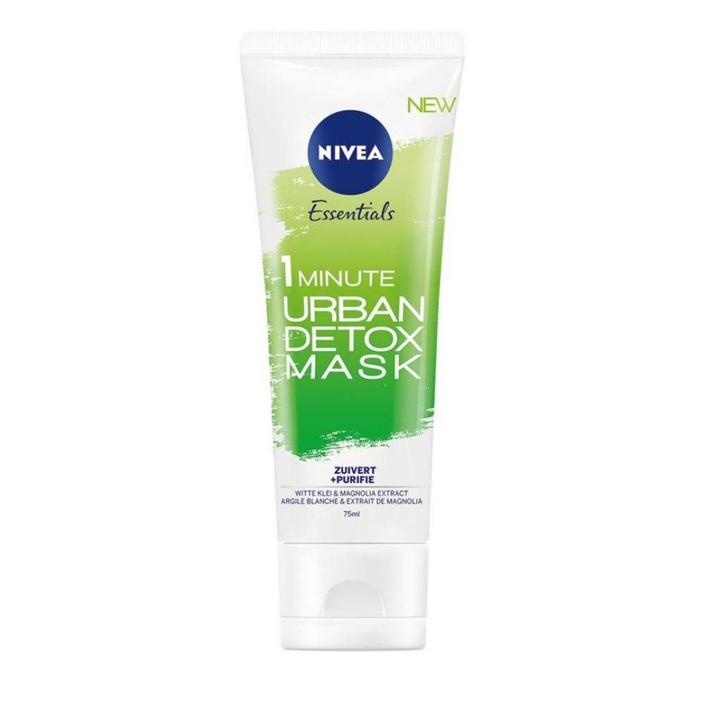 Nivea Essentials Urban Skin Detox Zuiverend Gezichtsmasker 75 ml