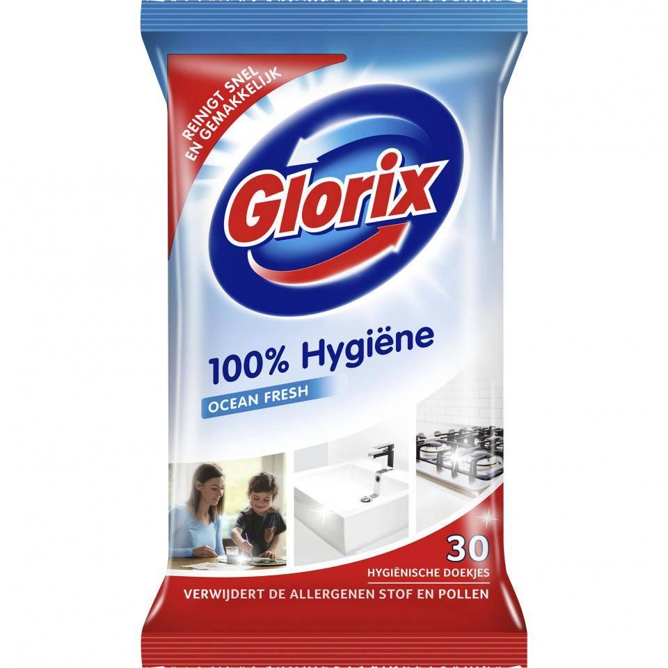 Glorix Hygienetücher - 30 Stück