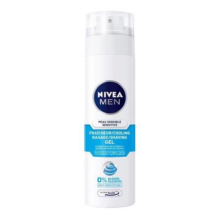 Nivea Men Scheergel Sensitive Cooling 200 ml