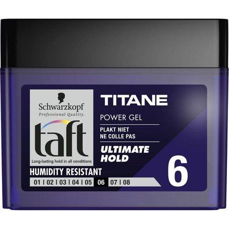 Taft Gel Power Titane Cube 250 ml