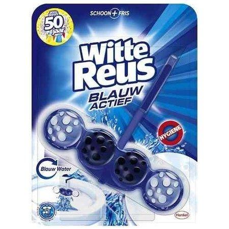 Weißes Riesen-WC Blue Active - 50 gr - Toilettenblock