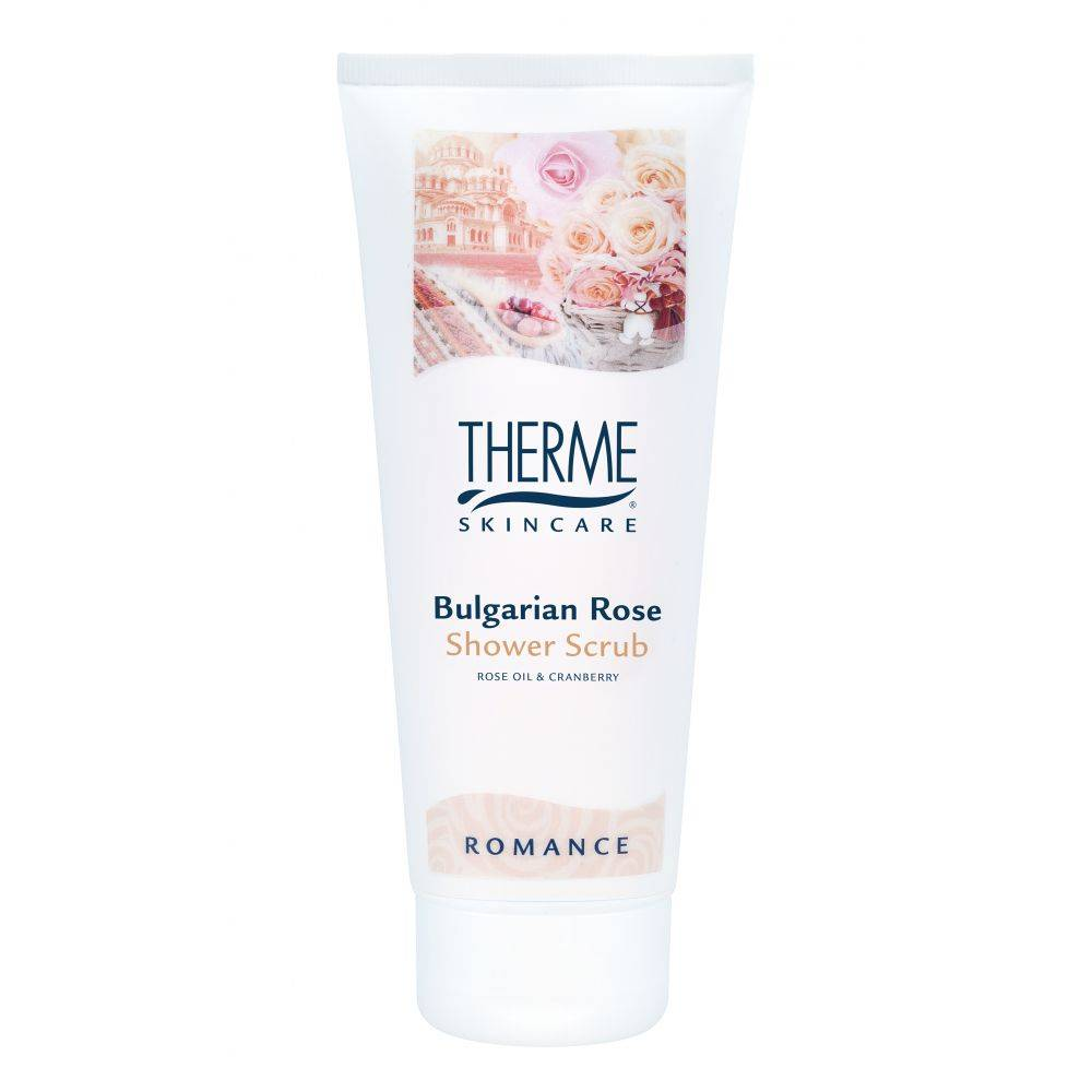 Therme Shower Scrub Bulgarian Rose 200 ml