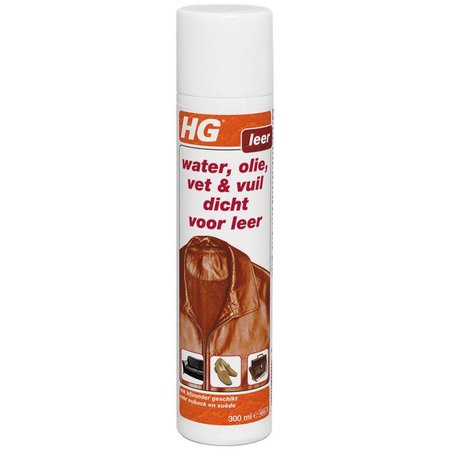HG Water / oil / dirt Closed For Leather 300 ml