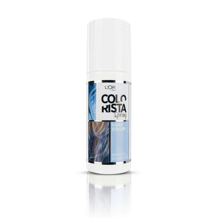 L'Oréal Colorista Spray Pastell Blau 1 Tag Haarfarbe