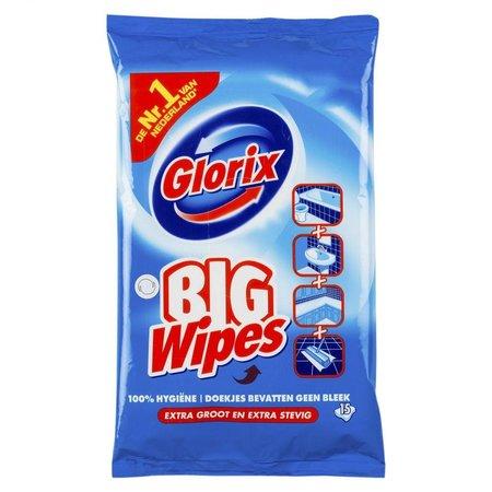 Glorix Big Wipes Ocean 15 stuks