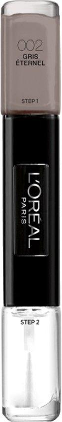 Clou Infaillible L'Oréal Paris - 2 Gris Eternal - Gris - Vernis à ongles