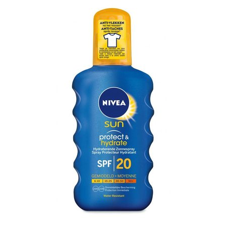 NIVEA SUN Protect & Hydrat Sonnenspray - LSF 20 - 200 ml