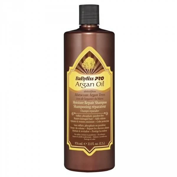 Babylisspro Argan Oil Moisture Repair Shampoo 350ml