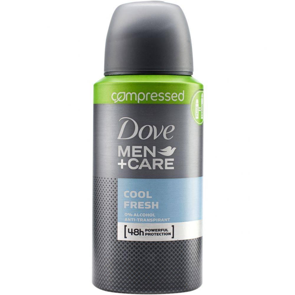 Dove Men Deodorant Spray Cool Fresh Compressed 75 ml