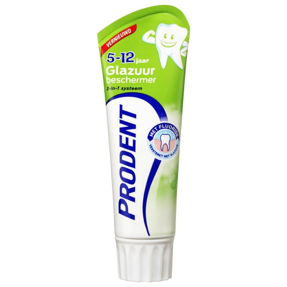 Prodent Tandpasta Glazuur Bescherming 5 - 12 jaar 75 ml