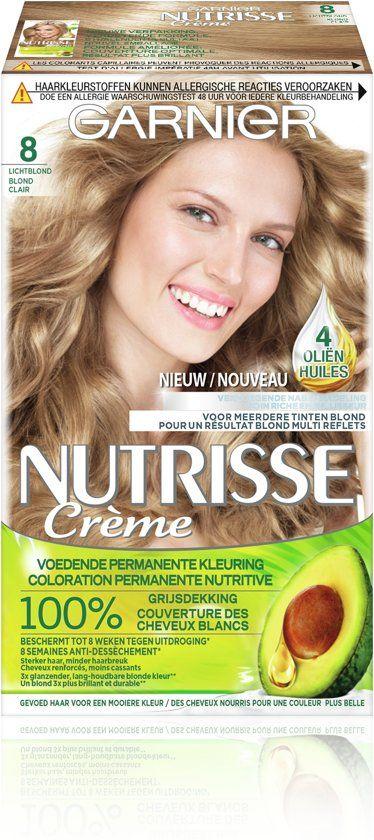 Garnier Nutrisse Creme 80 - natürliches Licht Lond - Hair Dye