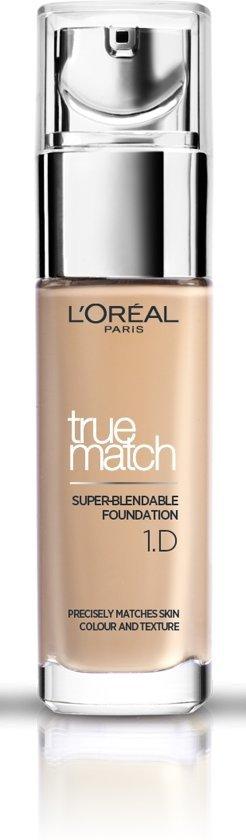 True Match Foundation - 1D / W Ivoire Dor