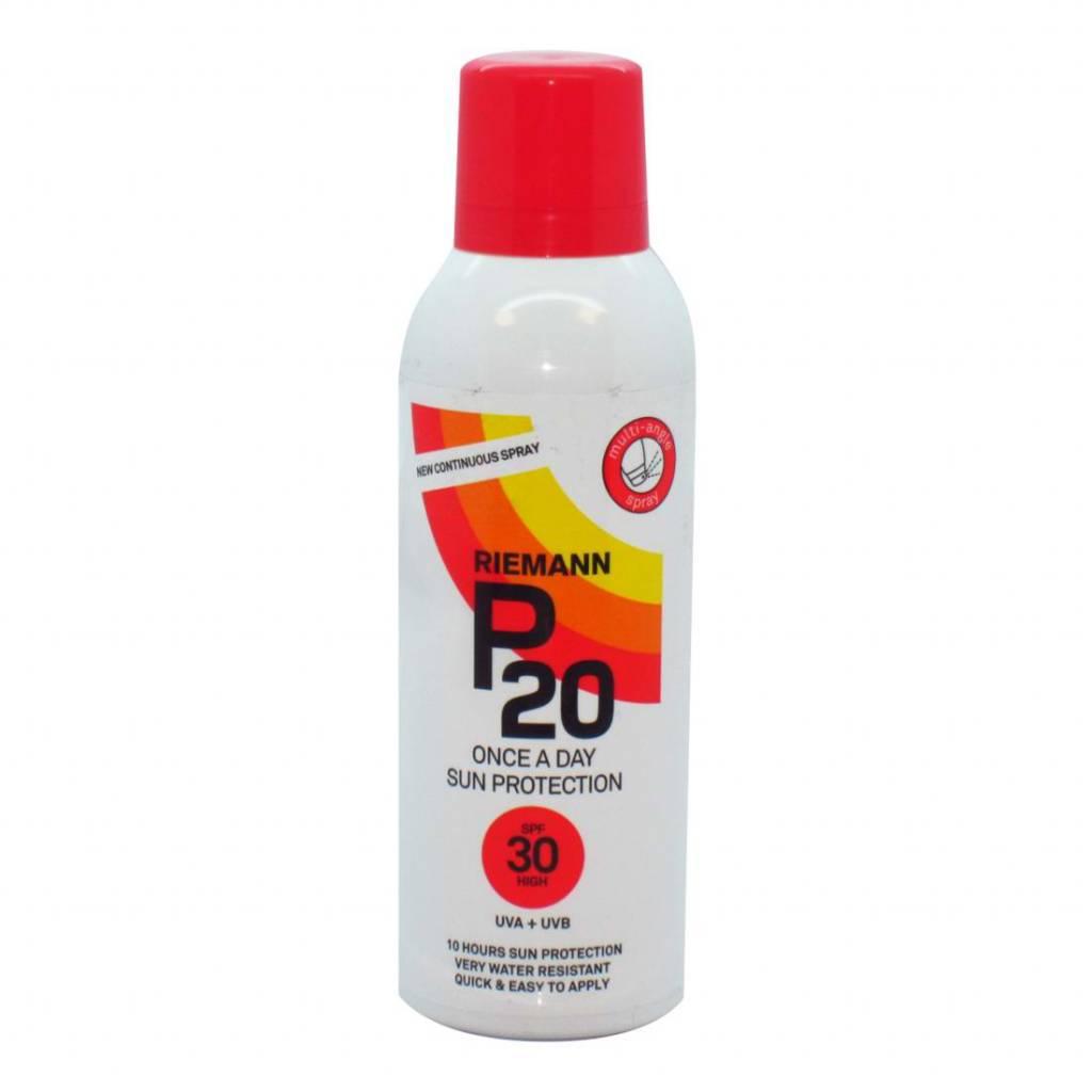 P20 Sonnenspray SPF 20   20 ml