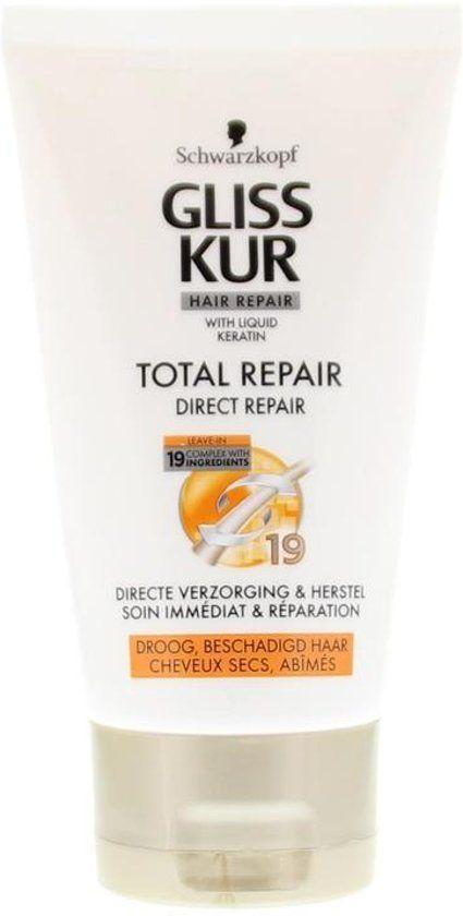 Gliss Kur Total Repair 19 Direktreparatur - 150 ml - Conditioner für unterlassen