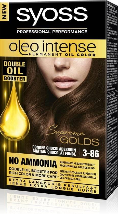 SYOSS Color Oleo Intense 3-86 Chocolate Brown Hair Dye - 1 piece ... 315092c48f9