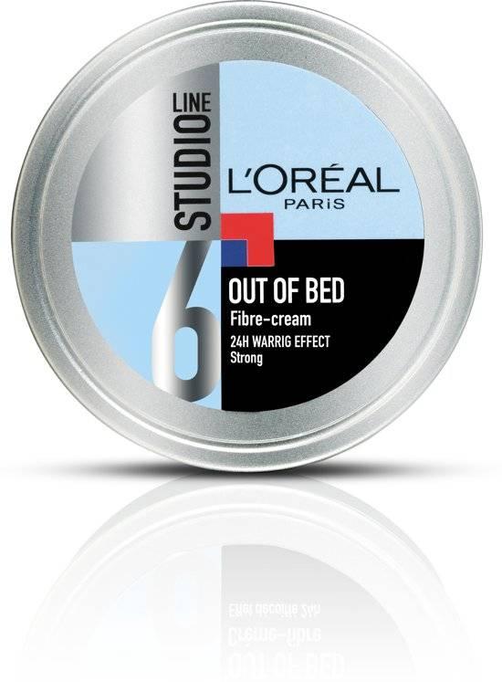 L'Oreal Paris Studio Line Special Out Of Bed Fiber Cream - 150 ml - Warrig Effect