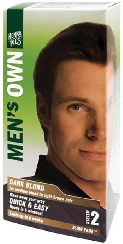 Hennaplus Hennaplus Men S Own Dark Blond Hair Dye Onlinevoordeelshop